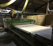 Biesse Rover G714 CNC Router for Nesting Jumbo Sheets.
