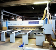 Holzma HPP300 with Automatic Panel loading from Bargstedt Warehouse system